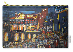 Cafe Scene At Night Carry-all Pouch