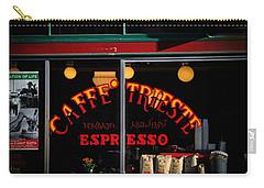 Caffe Trieste Espresso Window Carry-all Pouch