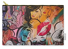 Caftans And Women Collage  Carry-all Pouch