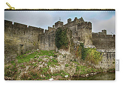 Carry-all Pouch featuring the photograph Cahir Castle by Marie Leslie