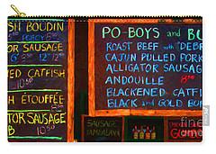 Cajun Menu Alligator Sausage Poboy - 20130119 Carry-all Pouch