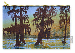 Cajun Sky Carry-all Pouch by Warren Thompson