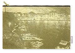 Cala Fonts At Night Carry-all Pouch