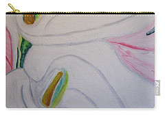 Cala Lillies Carry-all Pouch by Barbara Yearty