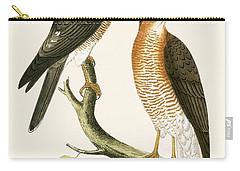 Calcutta Sparrow Hawk Carry-all Pouch by English School