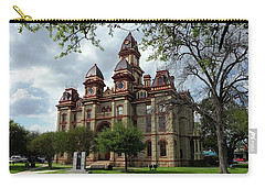 Carry-all Pouch featuring the photograph Caldwell County Courthouse by Ricardo J Ruiz de Porras