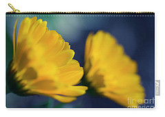 Carry-all Pouch featuring the photograph Calendula Flowers by Sharon Mau