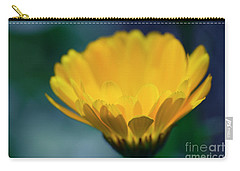Carry-all Pouch featuring the photograph Calendula by Sharon Mau