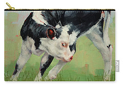 Calf Contortions Carry-all Pouch