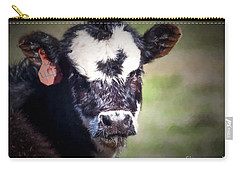 Calf Number 444 Carry-all Pouch by Laurinda Bowling