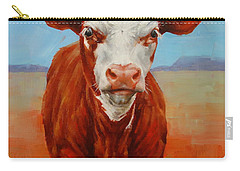 Calf Stare Carry-all Pouch