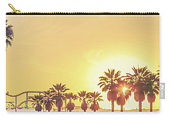 Carry-all Pouch featuring the photograph Cali Vibes by Az Jackson
