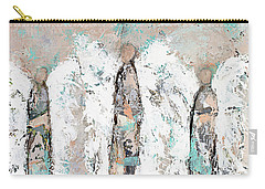 Calico Angel Trio Carry-all Pouch by Kirsten Reed