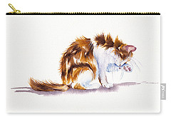 Calico Cat Washing Carry-all Pouch