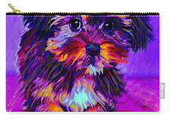 Calico Dog Carry-all Pouch