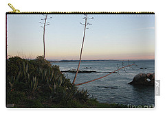 California At Twilight Carry-all Pouch by Mini Arora