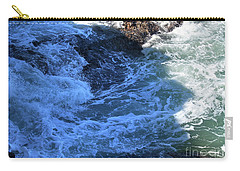 Carry-all Pouch featuring the photograph California Blue by Michael Rock