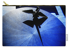 Carry-all Pouch featuring the photograph California Blue by Wayne Sherriff