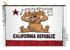California Budget La La La Carry-all Pouch