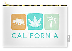 California Cannabis- Art By Linda Woods Carry-all Pouch