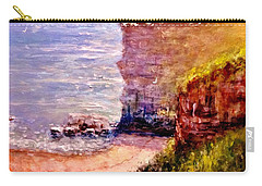 California Cliffs.. Carry-all Pouch by Cristina Mihailescu