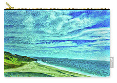 California Coast Carry-all Pouch by Joan Reese