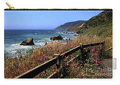 California Coast Carry-all Pouch by Joseph G Holland