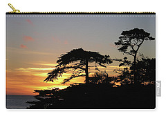 California Coastal Sunset Carry-all Pouch