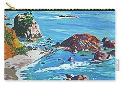 California Coastline Carry-all Pouch