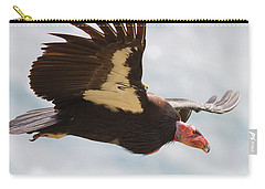 California Condor At Big Sur Carry-all Pouch
