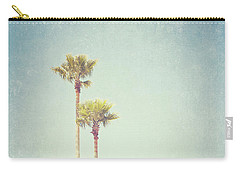 California Dreaming - Palm Tree Print Carry-all Pouch