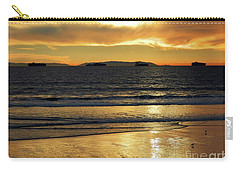 Carry-all Pouch featuring the photograph California Gold by Everette McMahan jr