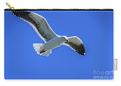 Carry-all Pouch featuring the photograph California Gull by Robert Bales