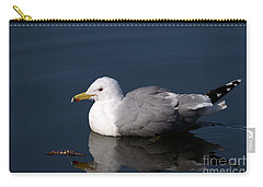 Carry-all Pouch featuring the photograph California Gull by Sharon Talson