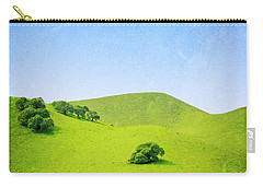 Carry-all Pouch featuring the photograph California Hillside by Melanie Alexandra Price