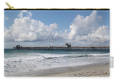 Carry-all Pouch featuring the photograph California Kisses by Amy Gallagher