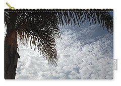 California Palm Tree Half View Carry-all Pouch by Matt Harang