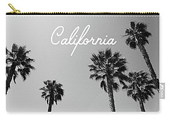 California Palm Trees By Linda Woods Carry-all Pouch