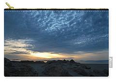 California Rocky Beach Sunset  Carry-all Pouch