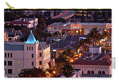 California Street At Ventura California Carry-all Pouch