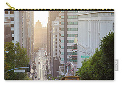 California Street Sunrise Carry-all Pouch
