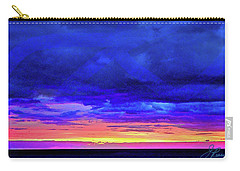 Carry-all Pouch featuring the painting California Sunrise by Joan Reese