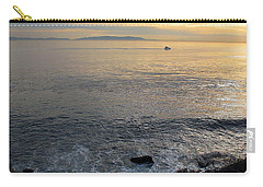 Carry-all Pouch featuring the photograph California Sunset by Joan  Minchak
