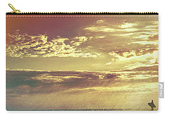 California Sunset Surfer Carry-all Pouch