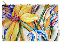 California Wildflowers Series I Carry-all Pouch by Lil Taylor
