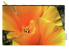 Californian Poppy Carry-all Pouch by Stephen Melia