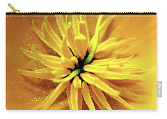 Californian Poppy Macro Carry-all Pouch