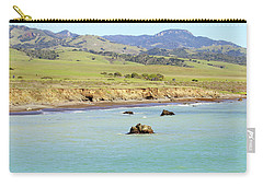 Carry-all Pouch featuring the photograph California's Central Coast by Art Block Collections
