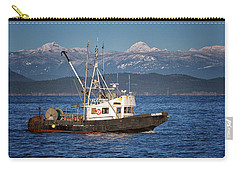 Carry-all Pouch featuring the photograph Caligus by Randy Hall