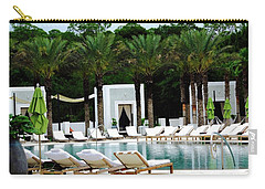 Caliza Pool In Alys Beach Carry-all Pouch